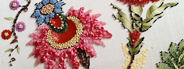 ルサージュの刺繍レベル7