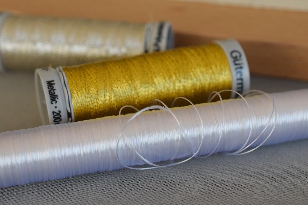 無撚糸とギッターマンの糸