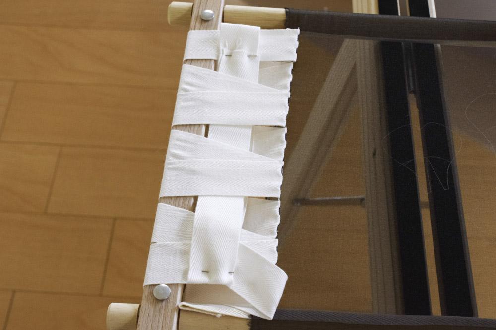 刺繍枠の張り方、布テープ15