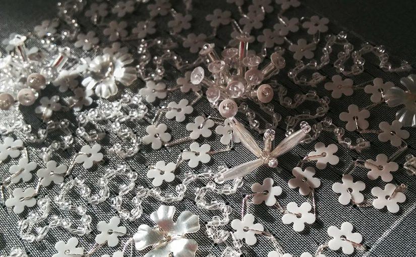 お花スパンコールの使い方<br /> – リュネビル刺繍のヴェルミセル –