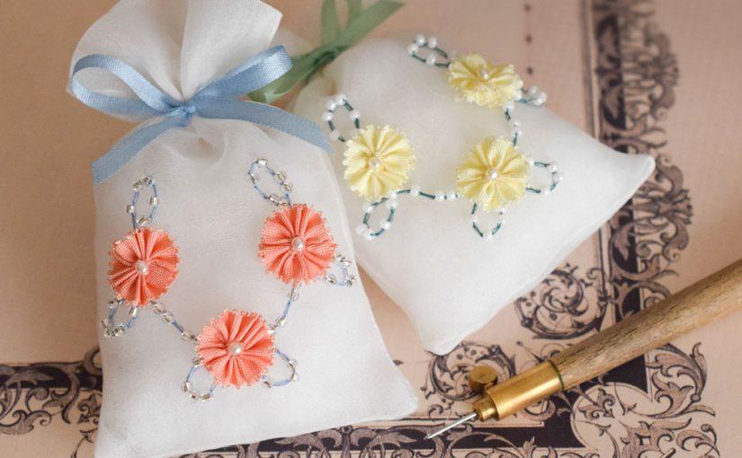 オートクチュールリュネビル刺繍のワークショップ