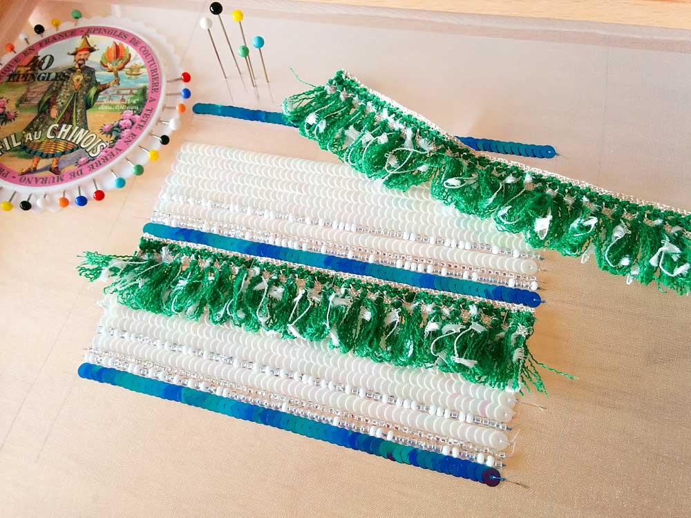 刺繍のブレードの使い方