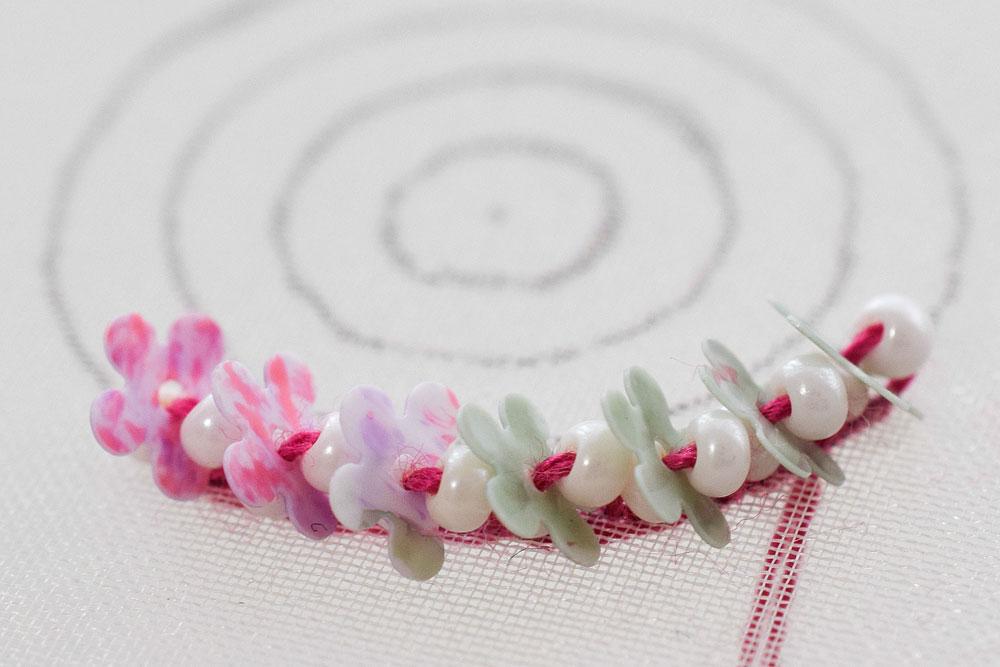 ビーズ刺繍のやり方6