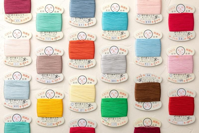 京都の絹糸や糸六
