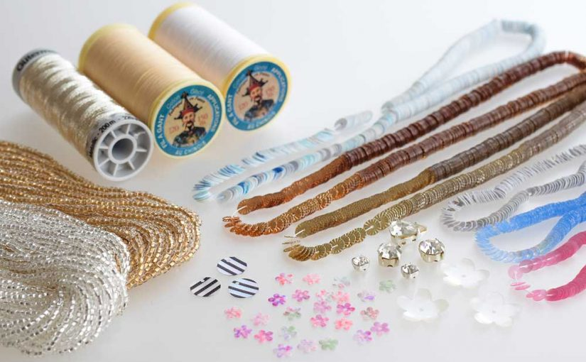オートクチュール刺繍材料