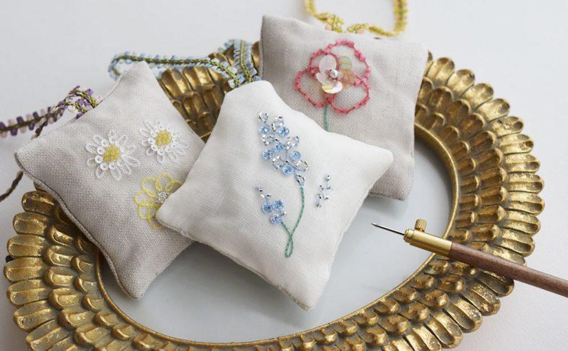 リュネビル刺繍のキット