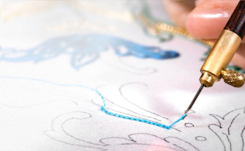 リュネビル刺繍<br />はじまりと終わりのステッチ